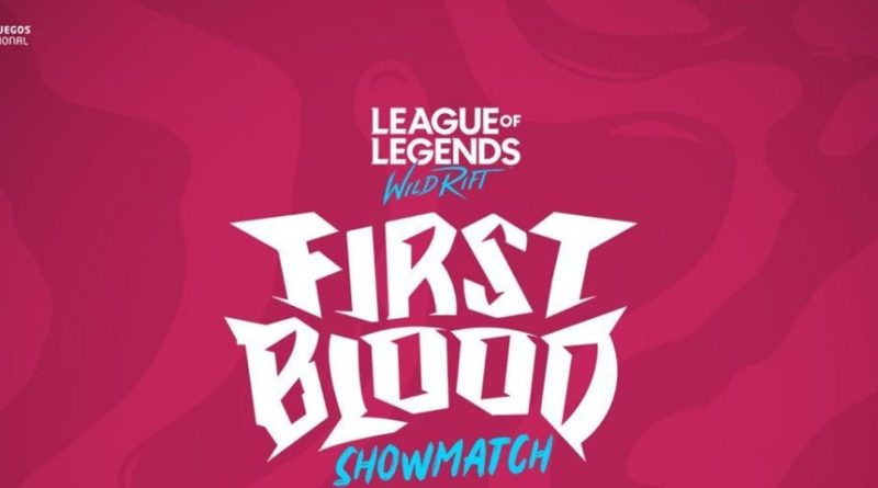 First-Blood League of Legends Showmatch